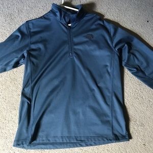 Men's north face quartzer zip